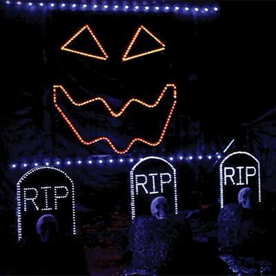 Singing Pumpkins Light Show